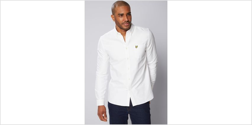 Lyle and Scott Oxford Shirt from Studio