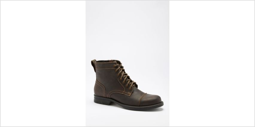 Brown Military Boots from Studio