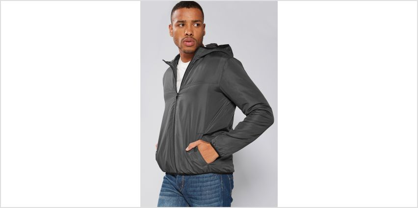 Padded Hooded Jacket from Studio