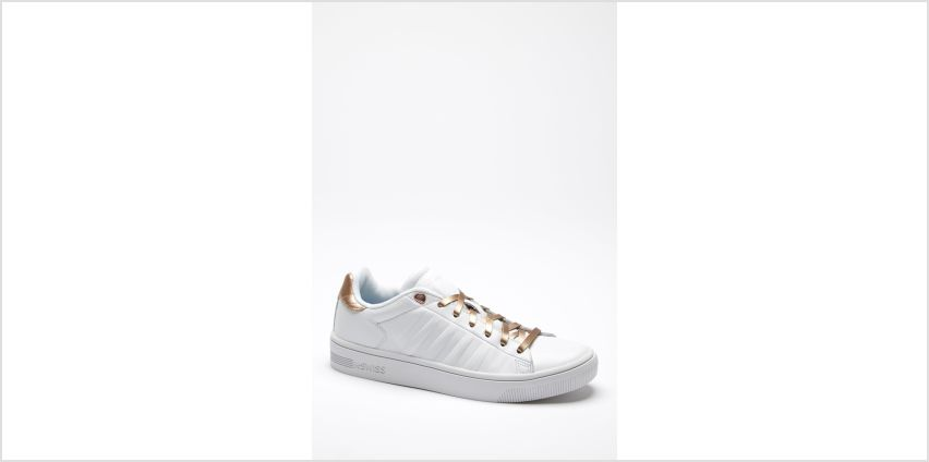 K Swiss Court Frasco White Trainers from Studio