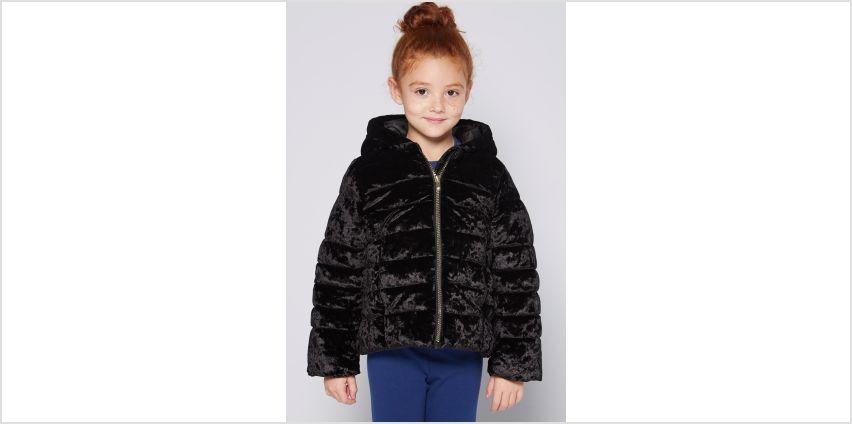 Girls Velour Hooded Jacket from Studio