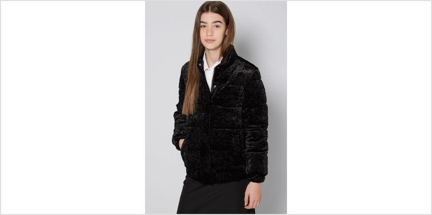 Older Girls Velour Jacket from Studio