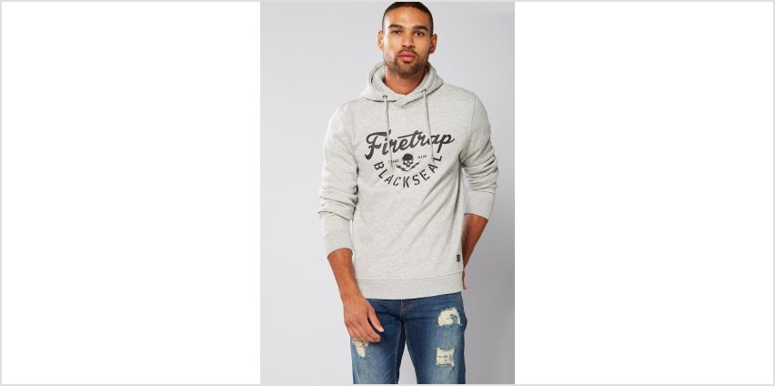 Firetrap Branded Hoody from Studio