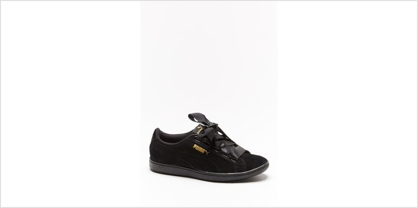 Puma Vikky Suede Ribbon Lace Trainers from Studio
