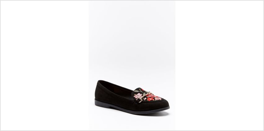 Embroidered Loafer from Studio