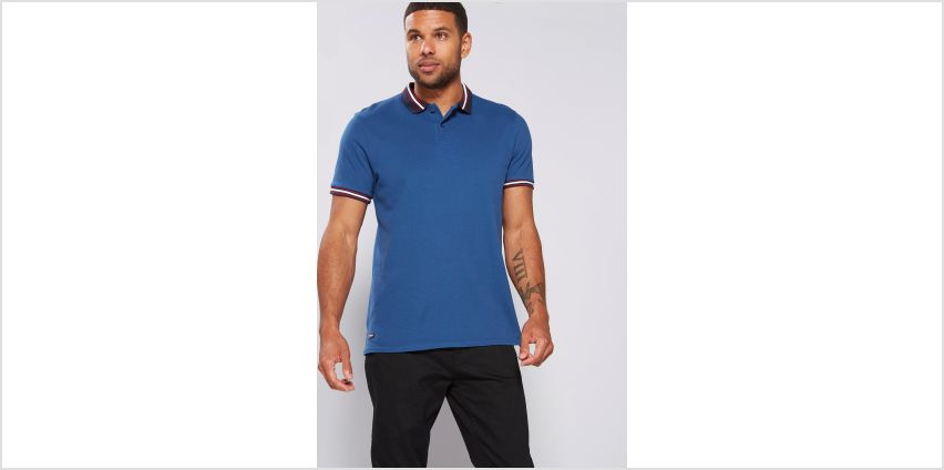 Casual Tipped Polo Shirt from Studio