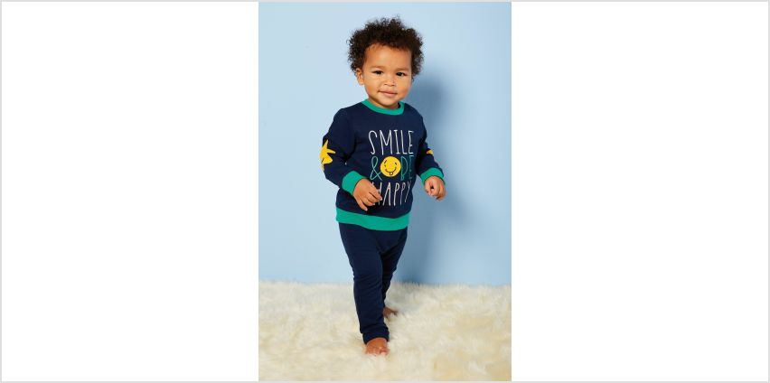 Baby Boys 2-Piece Happy Sweater and Jogger Set from Studio