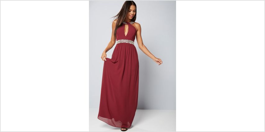 TFNC Embellished Maxi Dress from Studio