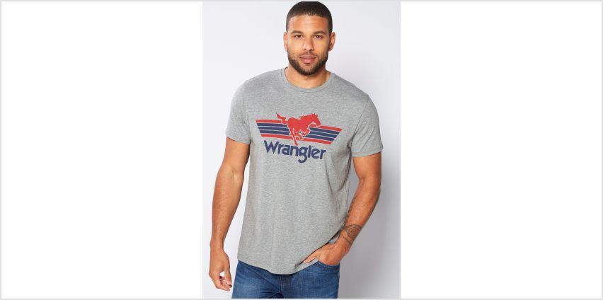 Wrangler Brand Carrier T-Shirt from Studio