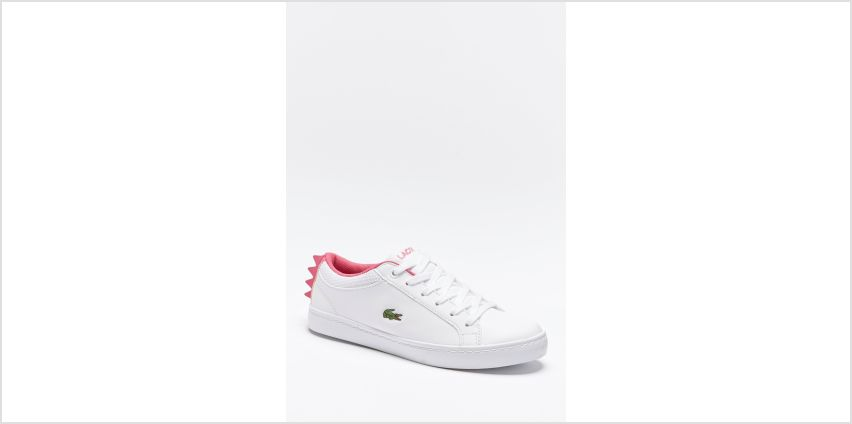 Girls Lacoste Straightset Trainers from Studio