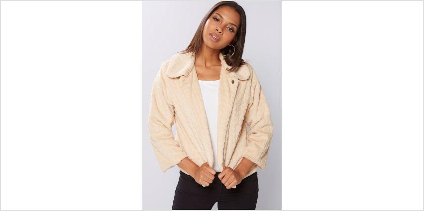 Mela London Faux Fur Jacket from Studio