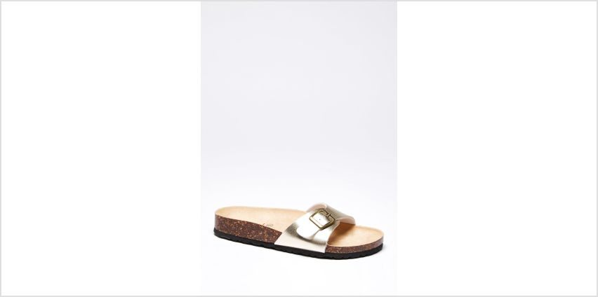 Buckle Slider Sandals from Studio