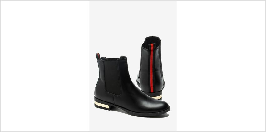 Stripe Back Chelsea Boots from Studio