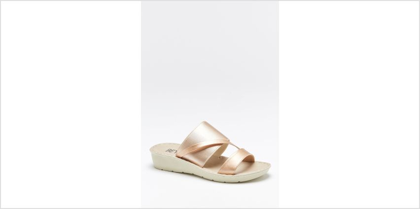 Comfort Stretch Mule Sandals from Studio