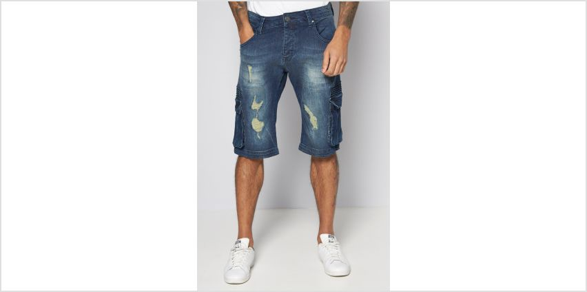 883 Police Byron Denim Shorts from Studio