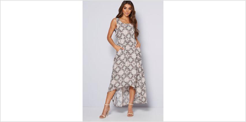 Apricot Dip Hem Dress from Studio