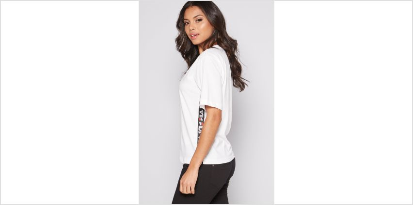 Fila Taped Foundation White T-Shirt from Studio