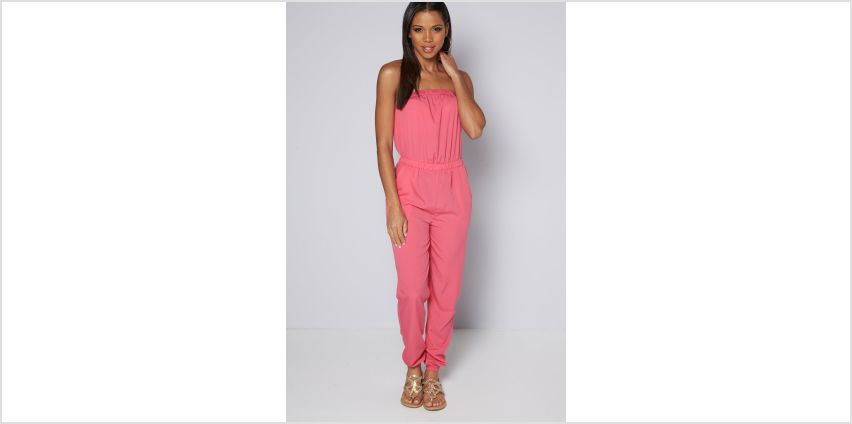 Bandeau Pink Jumpsuit from Studio