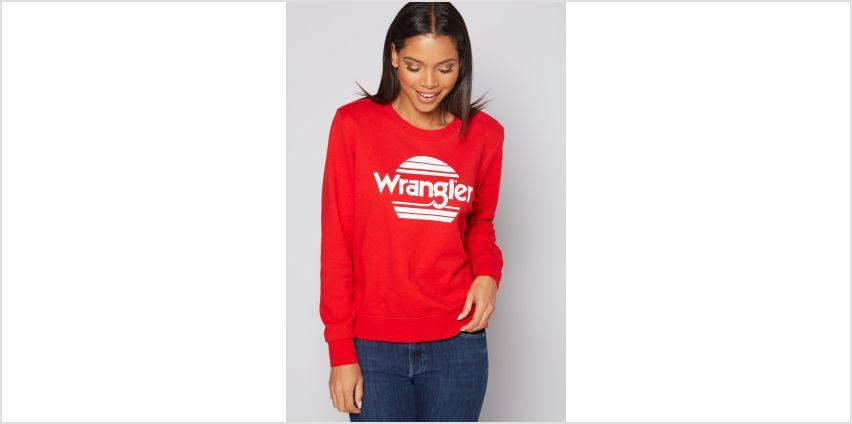 Wrangler Logo Sweatshirt from Studio