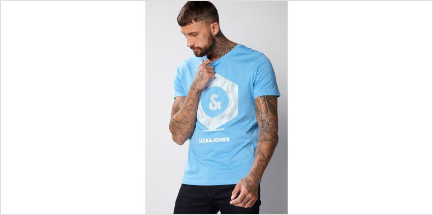 Jack and Jones Blue T-Shirt from Studio