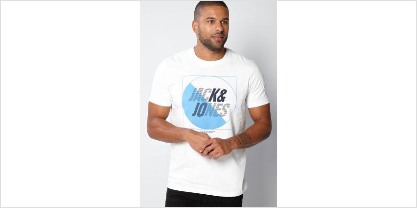 Jack and Jones White T-Shirt from Studio