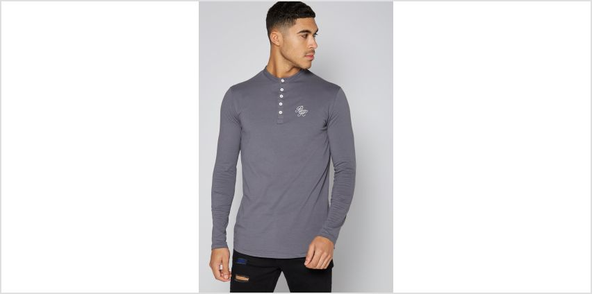 Beck and Hersey Long Sleeve Grandad T-Shirt from Studio