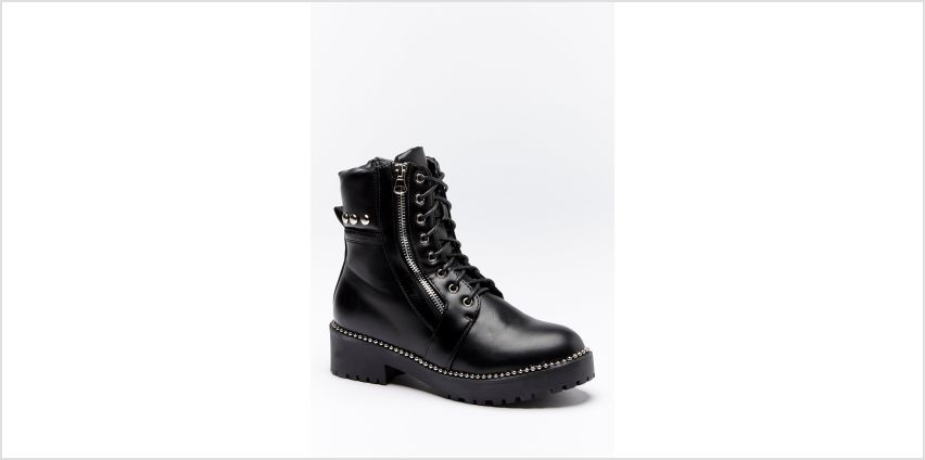 Zip Side Biker Boots from Studio