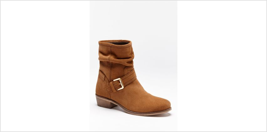 Suede Slouch Ankle Boots from Studio