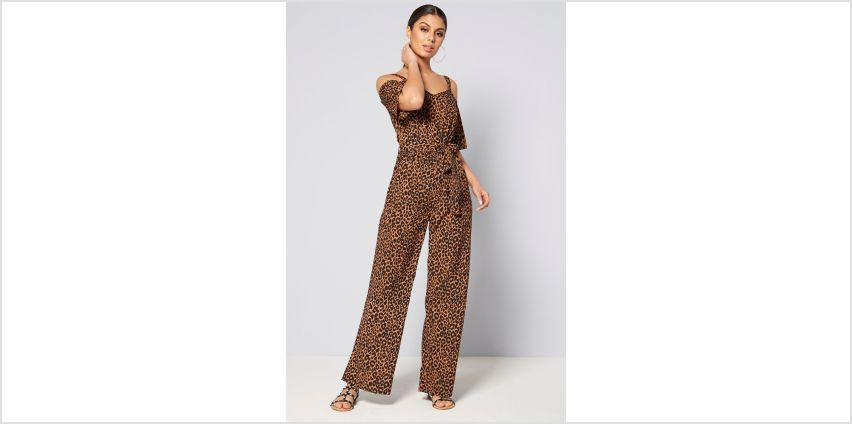 Animal Print Jumpsuit from Studio