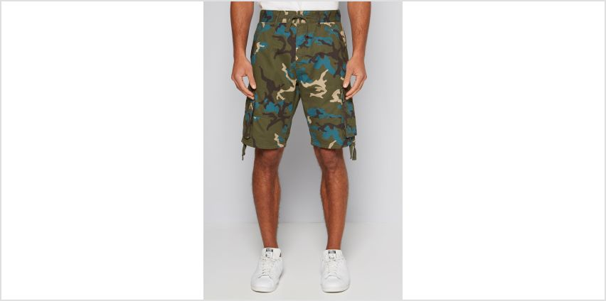 Camo Cargo Shorts from Studio