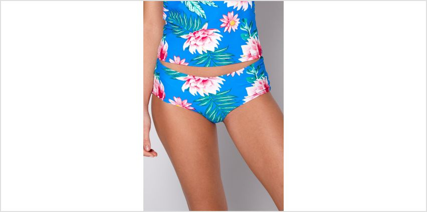 Floral Frenzy Short Bikini Bottoms from Studio