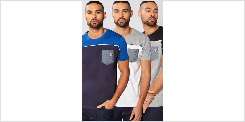 Rawcraft Pack of 3 T-Shirts from Studio