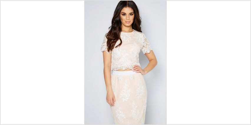 Embellished Co-ord Set Top from Studio
