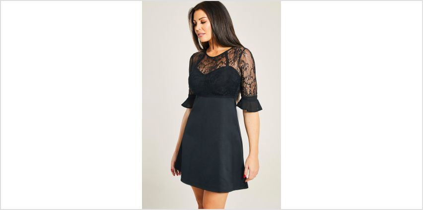 Jessica Wright Lace Skater Dress from Studio