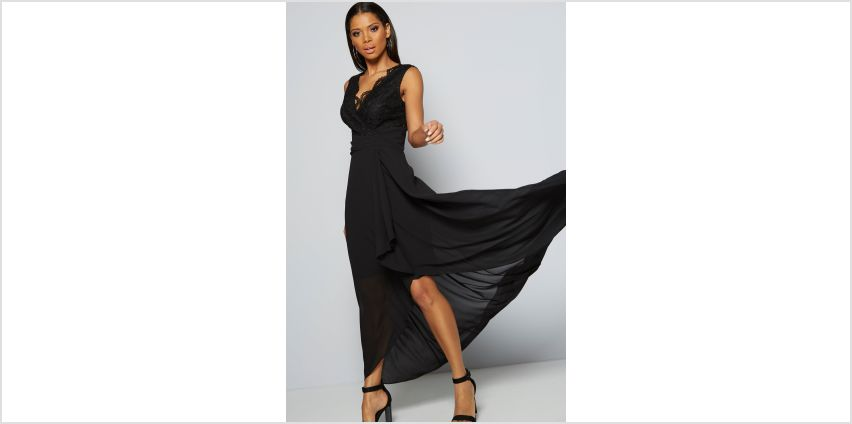 TFNC Lace Hi Lo Maxi Dress from Studio