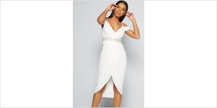 TFNC Wrap Midi Dress from Studio