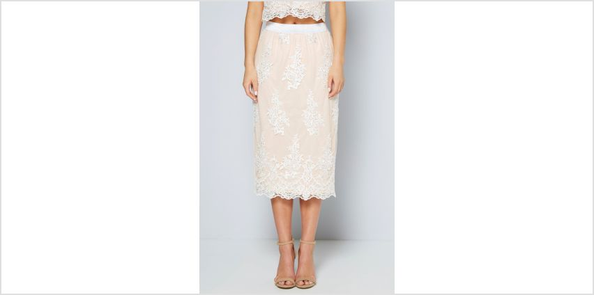Embellished Co-ord Set Skirt from Studio
