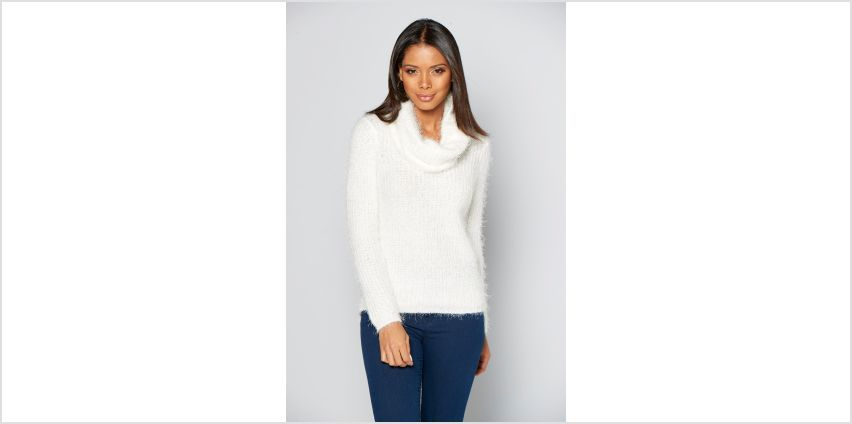 Fluffy Snood Jumper from Studio