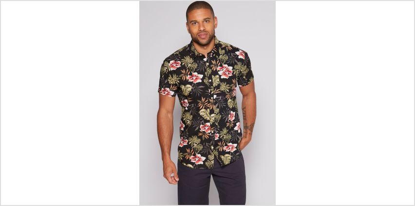 Jack and Jones Floral Short Sleeve Shirt from Studio