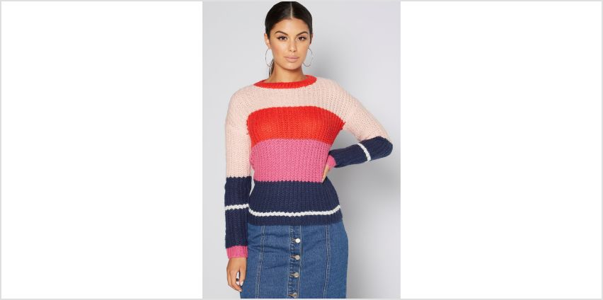 Bold Stripe Jumper from Studio