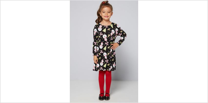 Girls Christmas Mini Me Dress from Studio