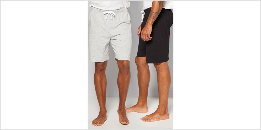 Pack of 2 Loungewear Shorts from Studio