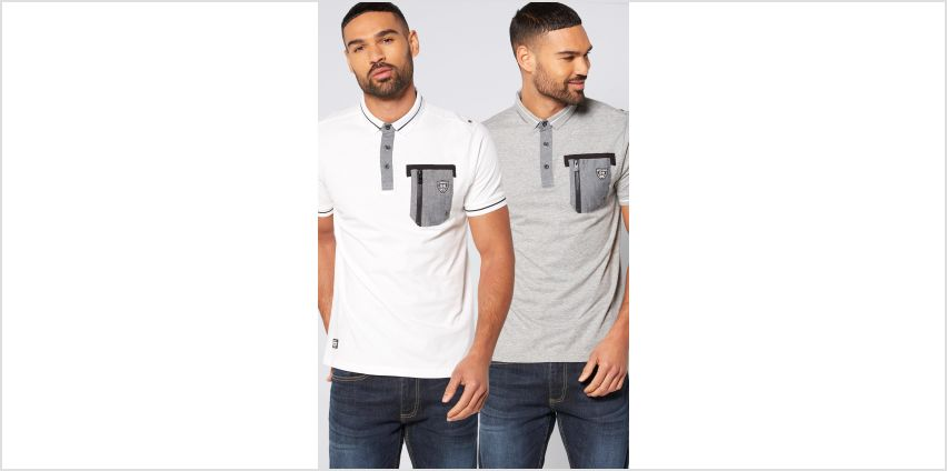 Rawcraft Pack of 2 Polo Tops from Studio