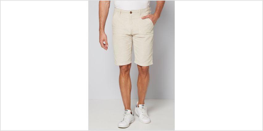 Linen Blend Shorts from Studio
