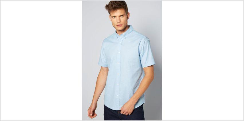 Short Sleeve Oxford Shirt from Studio