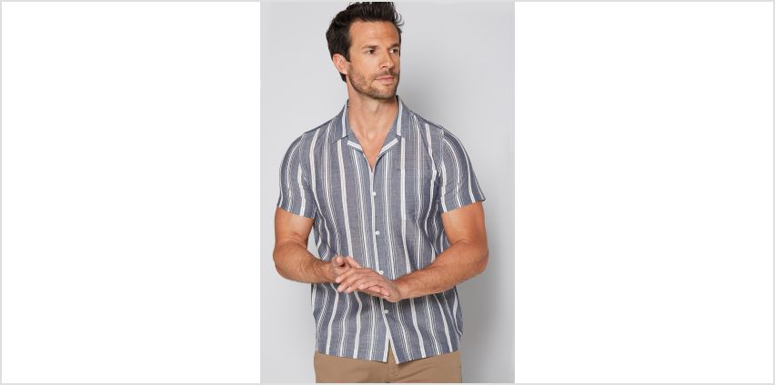 Stripe Short Sleeve Shirt from Studio