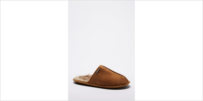 Dunlop Warm Lined Mule Slippers from Studio