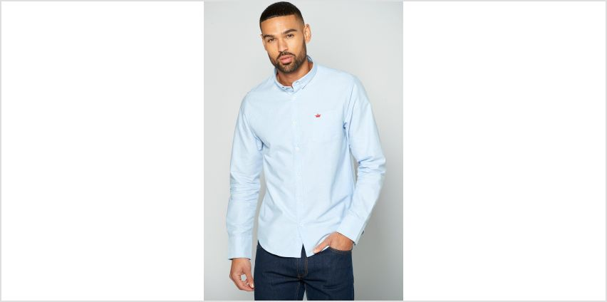 Long Sleeve Oxford Shirt from Studio