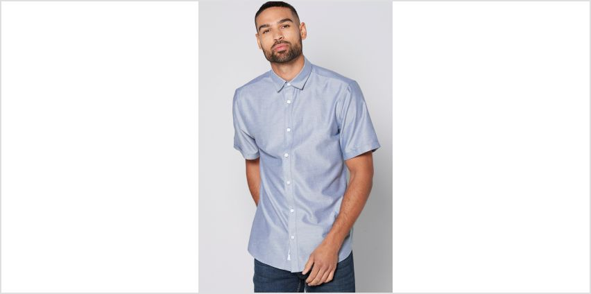 Only and Sons Short Sleeve Oxford Shirt from Studio