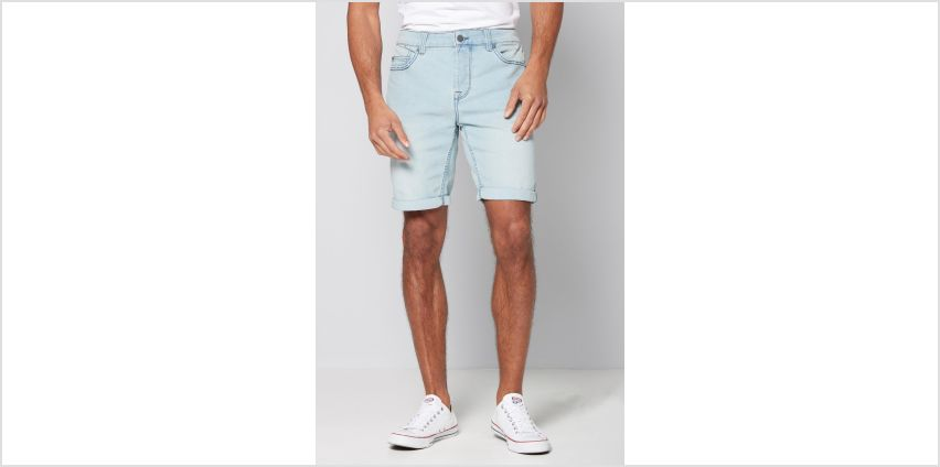 Only and Sons Light Blue Denim Shorts from Studio